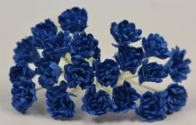 DARK ROYAL BLUE GYPSOPHILA / FORGET ME NOT Mulberry Paper Flowers